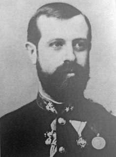 Archduke Johann Salvator of Austria-Tuscany (1852 – 1890). He was the youngest son of Grand Duke Leopold II of Tuscany.