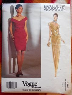 Vogue Designer Original 2785  Bellville Sassoon by Clutterina