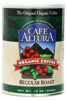 Cafe Altura Organic Coffee, Regular Roast, Ground, 12-Ounce Cans (Pack of 3) - http://goodvibeorganics.com/cafe-altura-organic-coffee-regular-roast-ground-12-ounce-cans-pack-of-3/