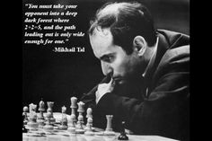 Chess Strategy in which you control your opponent.