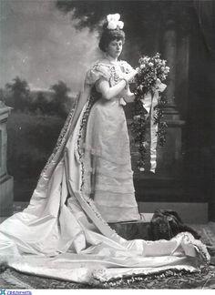Jemima Blackwood (later Lady Laveson) 1898