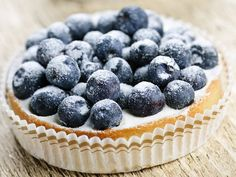The Pure Pantry's GF Berry Cheesecake Tartlets