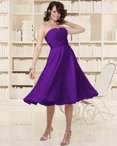 Bridesmaid Dress-grape