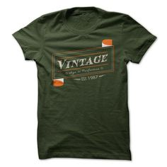 Vintage 1987 T-Shirts, Hoodies, Sweatshirts, Tee Shirts (19$ ==► Shopping Now!)
