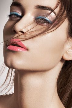 Tamara Williams on Behance Beauty Logo, Beauty Art, Beauty Ideas, Blue Makeup, Girls Makeup, Beauty Makeup Photography, Long Hair Wedding Styles, Beauty Background, Beauty Hacks Video
