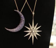 """And we all shine on like the moon and the stars…"" – John Lennon. #ShaunLeane #HarrodsExclusive (Ground Floor)"