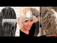 Si crees en los milagros, ponte papel de aluminio y esta mezcla antes de lavarte el pelo y mira lo q - YouTube