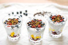 chia puding - raňajky novodobých aztékov