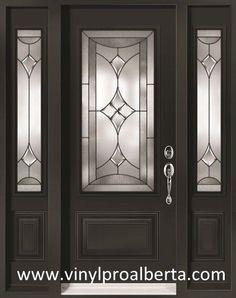 Resultado de imagen para Black front door with sidelights