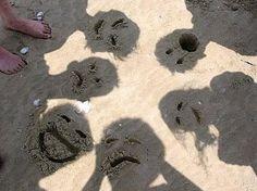 funny idea for the beachh