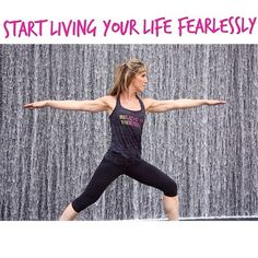 Be bold, be fearless, BE YOU!! #fearless #healthy
