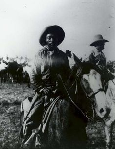 Bill Pickett, who invented the sport of bulldogging. Somewhere between 20-25% of cowboys in the old west were African American.
