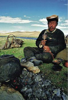 Pilgrim . Tibet