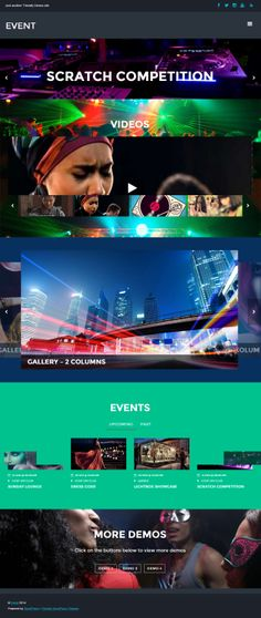 Event is Premium Responsive Parallax WordPress Theme for music, event and entertainment sites. Retina Ready. Drag  Drop Builder.