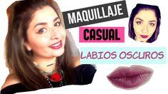 Outfit Look, Videos, Dark Lips, Tutorials, Beauty, Women