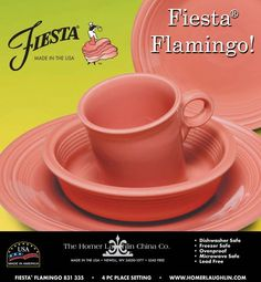 Fiesta color ♥ this one ... Flamingo!!