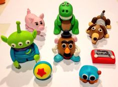 Edible fondant Toy Story cake toppers  by JessSweetCakes on Etsy, $40.00