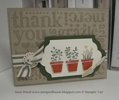 Stamp with Susie: More 'Gifts from the Garden'