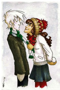 Draco and Hermione by CaptBexx on DeviantArt