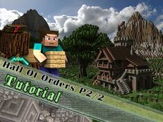 Minecraft Tutorial: Medieval Hall of Orders! Part 2/2 - YouTube