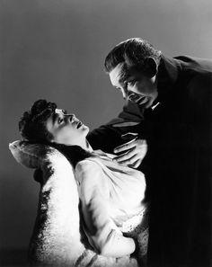 Lon Chaney, Jr. &  Louise Allbritton in Son of Dracula (1943)