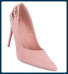Damen Schuhe Pumps High Heels Stiletto Rosa 35 - Damen pumps (*Partner-Link)