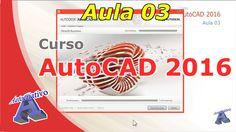 Curso de AutoCAD 2016 – Como Instalar o AutoCAD 2016 – Aula 03 – Autocri... Autocad 2016, Classroom