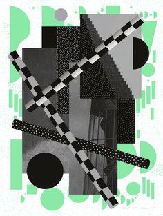 irradi 3 by irradié - typo/graphic posters Graphic Design Typography, Graphic Posters, Glitch Art, Invitation Card Design, Design Graphique, Abstract Shapes, Visual Communication, Ad Design, Creative Studio