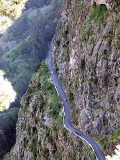 Madeira - Curral Das Freiras - Mountainside Road by Mike Gaylard, via Flickr Portugal
