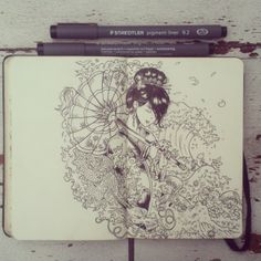 365 Days of Doodles by Gabriel Picolo, via Behance