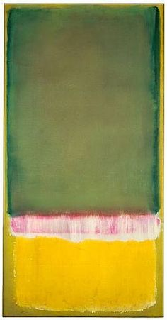 Mark Rothko His paintings always take me outside of the moment and make feel something immediate.