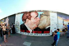 The Berlin Kiss:The Socialist Fraternal Kiss between Leonid Brezhnev and Erich Honecker, 1979