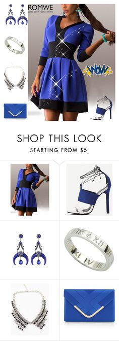 """1#Romwe"" by kivericdamira ❤ liked on Polyvore featuring Accessorize"
