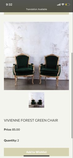Berry Wedding, Chair, Green, Stool, Chairs