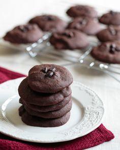 Chocolate Black Bean Cookies—do not fear the bean dessert!