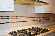 Striped Mirror Effect kitchen glass splashbacks is a classic design that will never date. Comprising of horizontal mirror stripes in a background colour . Glass Splashbacks, Mirror Effect, Glass Kitchen, Glass Design, Cool Kitchens, Colorful Backgrounds, Mirror Glass, Wall, Shopping