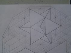 Star Tetrahedron found in the Flower of Life Pattern
