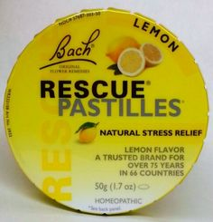 Bach Rescue Pastilles are tasty candy especially formulated using the Original Bach Flower Remedy formula for use by the whole family, including children.