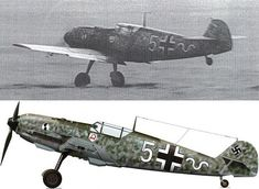 Messerschmitt Bf 109 E-1 of 7./JG2 is being flown by Hans KLEE at an airfield in the Pas de Calais, France, 1940. Hans Klee was credited with 6 confirmed victories before he died in the crash of his Me 109F-2 (W.Nr. 8131)
