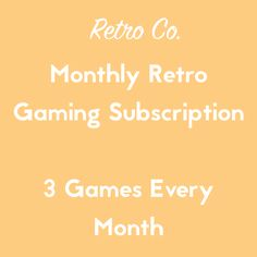"""Ships from UK and USA. UK orders will receive PAL region games, USA orders will receive NTSC region games.  Please note we ship all of our subscriptions on the 7th of each month after your first order.  PS, If you're a retro gaming fanatic, choose """"Any, Go Crazy!"""" for a mix every month!"""