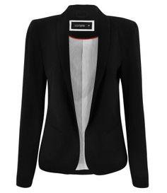 tipos de blazer preto feminino