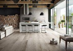 Kitchen design ideas: Top 10 kitchen tiles - Home & Decor Singapore Kitchen Tiles, Kitchen Decor, Wood Effect Tiles, Outdoor Flooring, Cuisines Design, Interior Exterior, Interior Design Living Room, Home And Living, Kitchen Remodel
