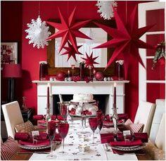 Decoraciones navideñas, puedes aplicar lo que vaya con tu estilo y tu casa