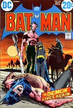 Batman 244. The Demon Lives Again!