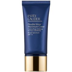 Estee Lauder Double Wear Maximum Cover Camouflage Makeup for Face and... ($38) ❤ liked on Polyvore featuring beauty products, makeup, face makeup, rattan, estee lauder cosmetics, estee lauder makeup and estée lauder