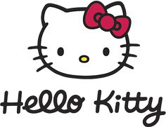 Hello kitty 4 clip art image
