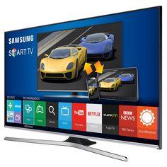 "Smart TV LED 55"" Full HD Samsung 55J5500 com Connect Share Movie, Screen Mirroring, Wi-Fi, Entradas HDMI e US | CasasBahia.com.br"