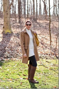 brown, beige, yellow, boots!