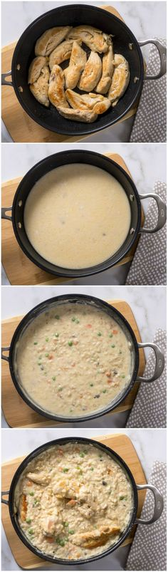 This chicken risotto