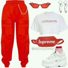 Swag Outfits For Girls, Teenage Girl Outfits, Cute Swag Outfits, Cute Comfy Outfits, Teen Fashion Outfits, Teenager Outfits, Mode Outfits, Retro Outfits, Stylish Outfits